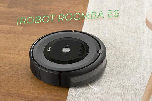 iRrobot roomba e6 vacuum cleaner прахосмукачка робот