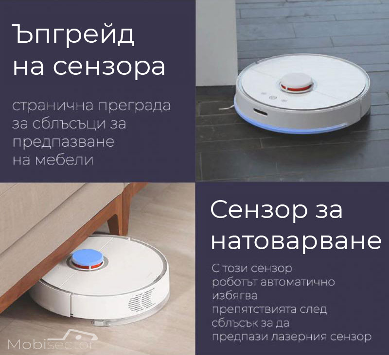 Прахосмукачка XIAOMI Mi Robot Vacuum Cleaner Топ Цени