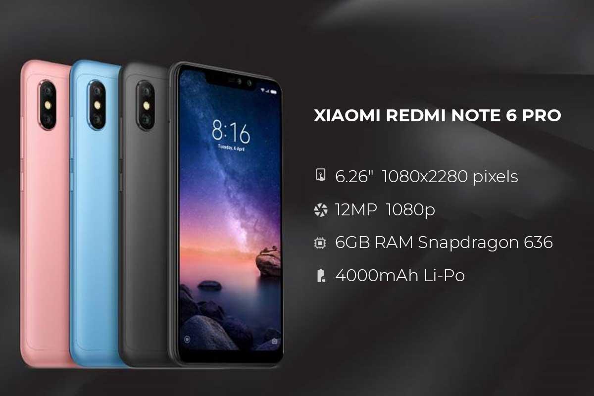 Xiaomi Redmi Note 6 Pro 64GB 4GB Dual SIM Смартфон Топ Цена